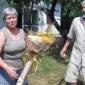 Проф. Емил Попов заедно с жена си Светла